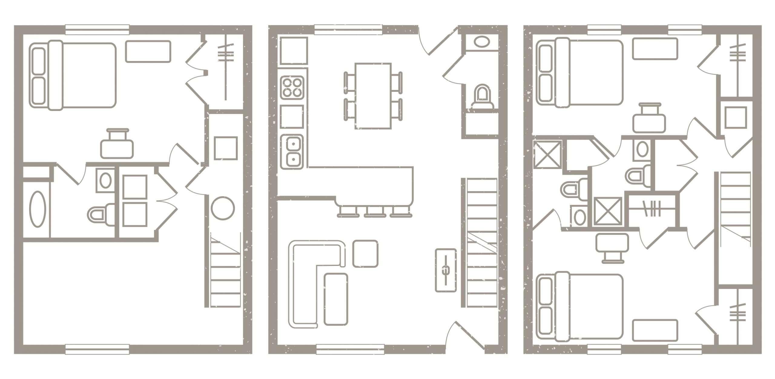 3 Bedroom Floorplan 1