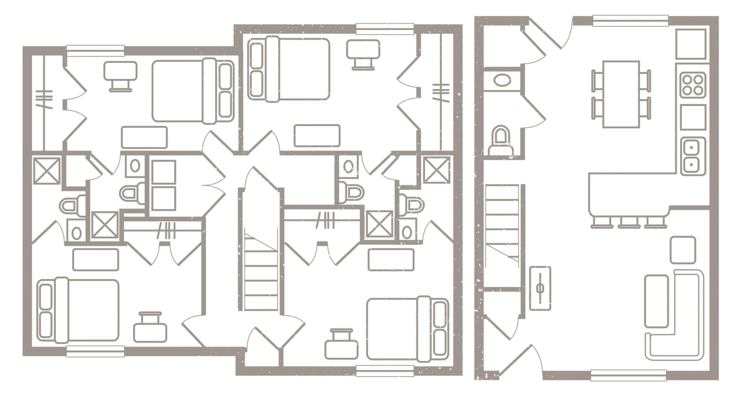 4 Bedroom Floorplan 2